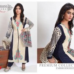 Modern Foggy Seasonal Dresses 2015 For Girls By Ghani Textile (2)