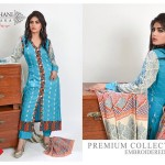 Modern Foggy Seasonal Dresses 2015 For Girls By Ghani Textile (4)