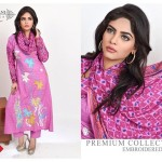 Modern Foggy Seasonal Dresses 2015 For Girls By Ghani Textile (5)