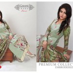 Modern Foggy Seasonal Dresses 2015 For Girls By Ghani Textile (7)