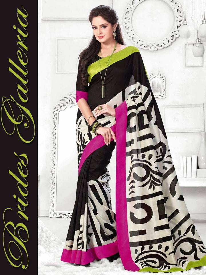 Modern Movie Star Fashion 2015 In Branded Sarees (5)