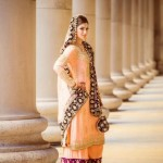Most Recent Pakistani Beautiful Wedding Clothes UK For Females 2014-15 (4)