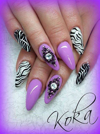 Latest Nails Fashion Of Ombre Nail Designs 2017: Nail Art Designs Latest Trends 2017 2018