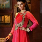 Natasha Couture Clothes & Lehenga Choli's Fashionable Variety 2014-15 (6)