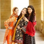 Nishat Linen Fashionable Winter Stylish Clothes 2014 (3)
