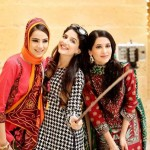 Nishat Linen Fashionable Winter Stylish Clothes 2014 (6)