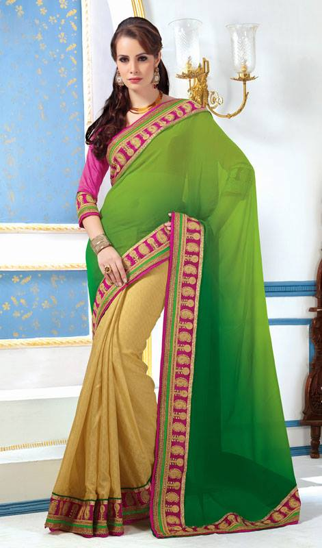 Outstanding Evening Wear Sarees Collection 2014-15 4