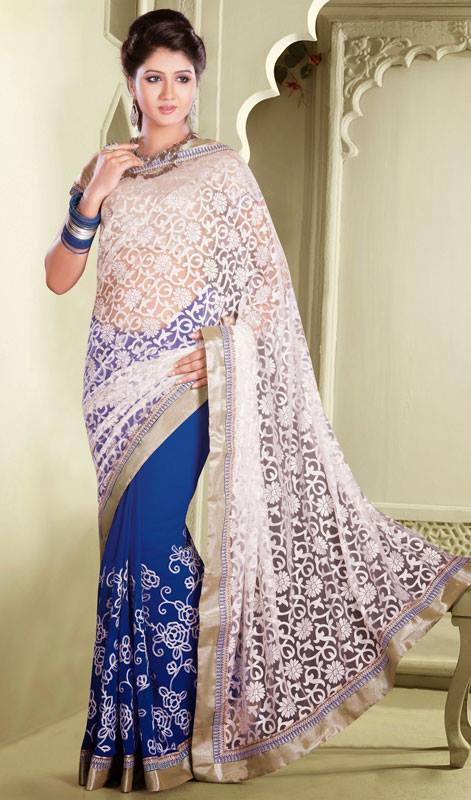 Outstanding Evening Wear Sarees Collection 2014-15 8