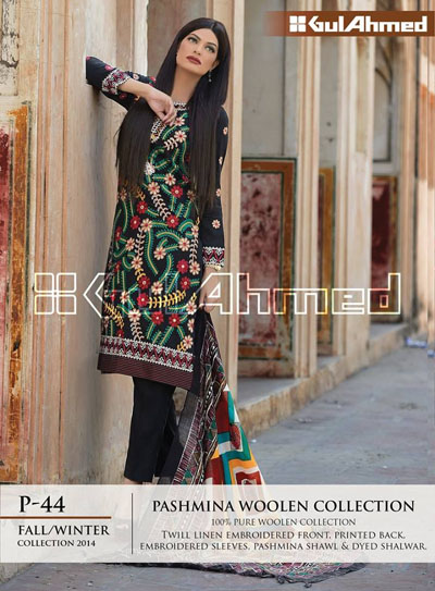 Pashmina Woolen Collection by GulAhmed 2015 2