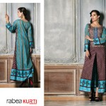 Rabea Kurti Collection 2014-15 By Shariq Textile 8