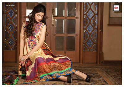 Rosette-Luxury digital collection 2014-15 by Lakhany Silk Mills (LSM Fabrics) .