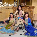 Rujhan Fabric Semi Stitched Cotton volume 2