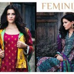 Shariq Feminine Shawl Rainy Season Garments 2014-15 (1)