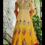 Stunning Floor Length Anarkali Suit Collection 2014-15 1