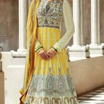 Stunning Floor Length Anarkali Suit Collection 2014-15 2