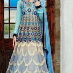 Stunning Floor Length Anarkali Suit Collection 2014-15 3