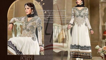 TOP-GEORGETTE HEAVY HANDWORK Dresses COLLECTION 2014 1