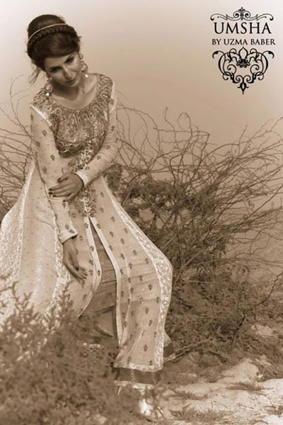 Umsha By Uzma Babar Bridal Dresses Collection2014-15 8