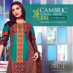 Cambric Un-Stitched Winter Collection 2014 3