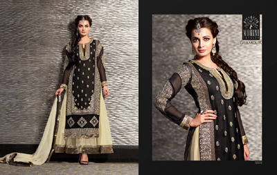 Diya mirza Dresses Collection 2014-15 1