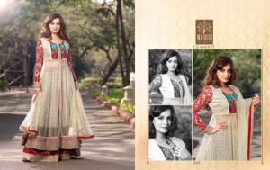 Diya mirza Dresses Collection 2014-15 2