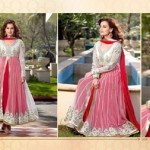Diya mirza Dresses Collection 2014-15 6