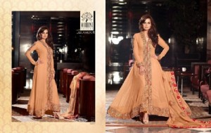 Diya mirza Dresses Collection 2014-15 7