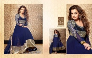 Diya mirza Dresses Collection 2014-15 8