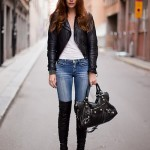 Fashionable Elegant Fall Cool Season Jeans (4)