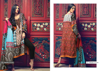 Firdous Fashion Winter Dresses Collection 2014-15  5
