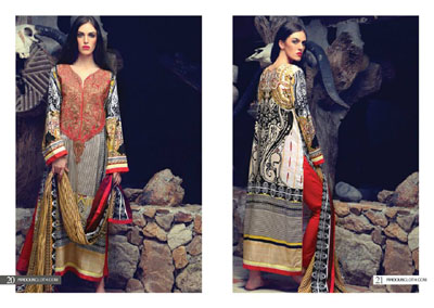 Firdous Fashion Winter Dresses Collection 2014-15  7
