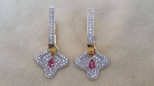 Gold Plated party Earrings collection 1