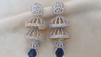 Gold Plated party Earrings collection 15