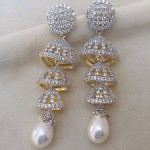 Gold Plated party Earrings collection 8