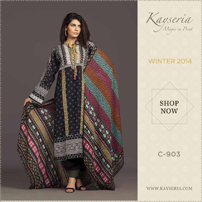 Kayseria Winter Dresses 2014-15 1