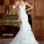 Kitty Chen Pretty Engagement Suits 2014-15 For Brides (5)
