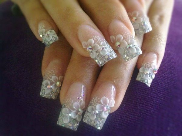 Lovely Pictures Variety of 3D Nail Style (4)