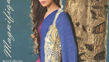 Magnifique Embroidered Kurti Collection Vol1