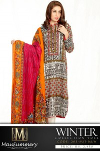 Mausummery Pakistan winter dresses Vol 2 7