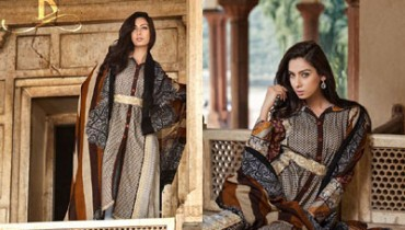 Rabea Pashmina Designer Embroidered Collection 1