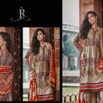 Rabea Pashmina Designer Embroidered Collection 8