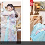 Range Cotton Collection By Rujhan Fabric 19