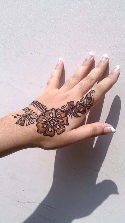 simple mehndi designs for hands collection 2020