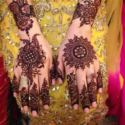 Simple Mehndi Designs for Hands 4