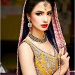Elegant Bridal Walima Dress
