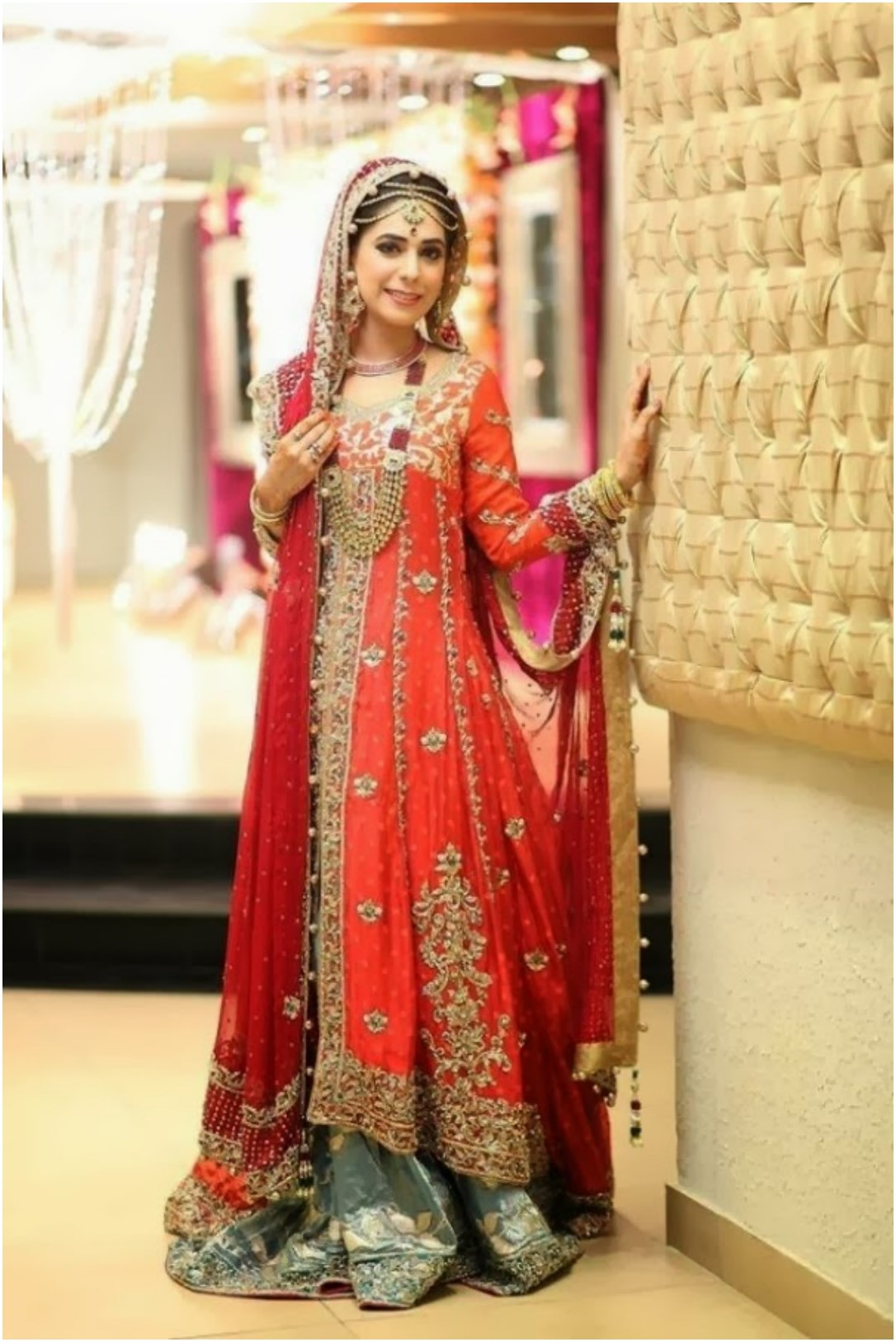 Exclusive design of pakistani bridal dresses for Current wedding dress trends