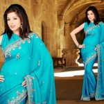 Brides Galleria Best Design of Saree 2015 (1)
