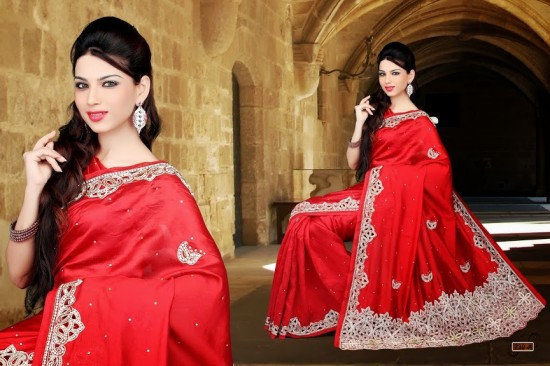 Brides Galleria Indian Saree 2015 Design for Women (1)