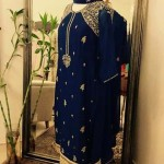 Beautiful Embroidered Saree with Blouse Collection