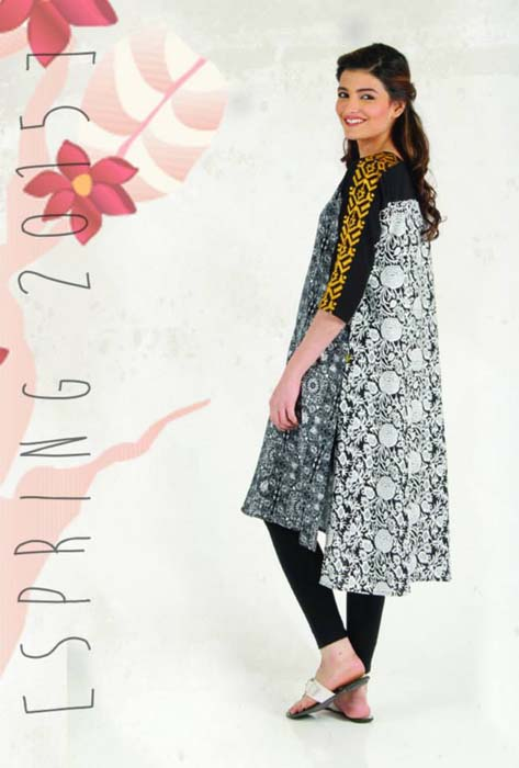 Beautiful Stylish Ego Winter Dresses Collection 2015